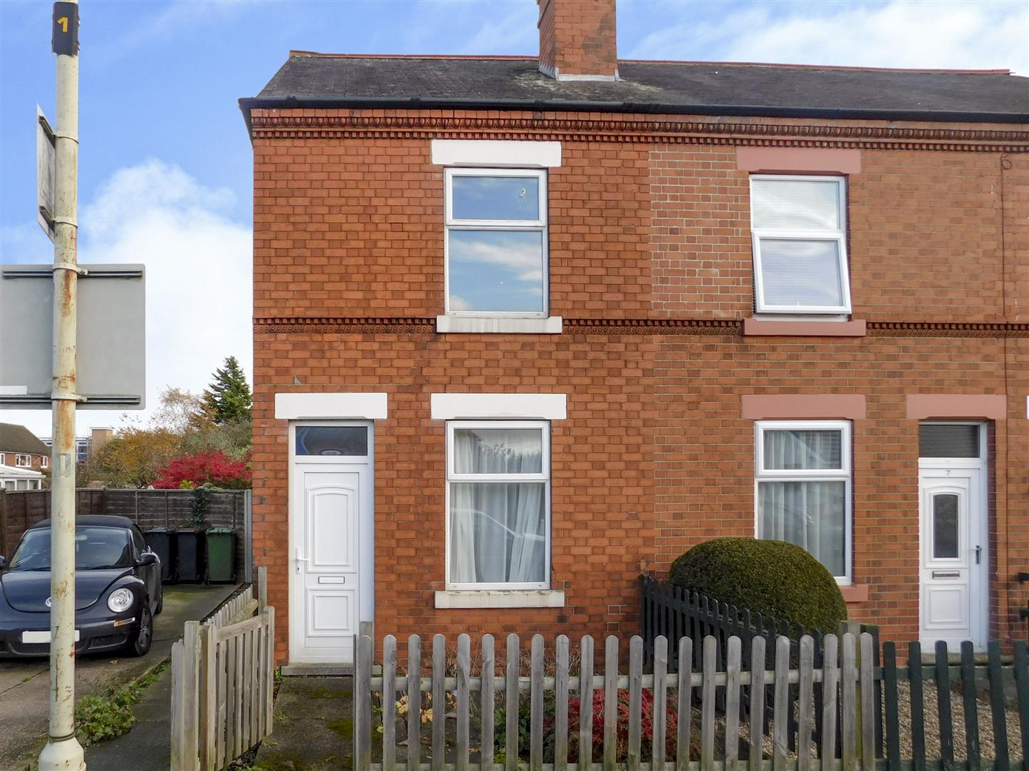 2 Bedrooms End Of Terrace House for sale in Hastings Street, Castle Donington
